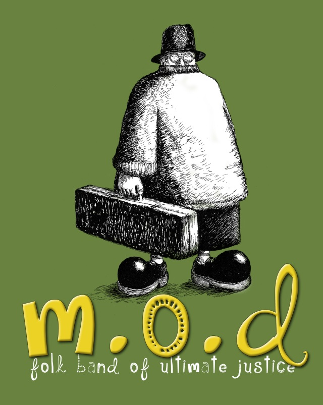 Another design & illustration concept for M.O.D