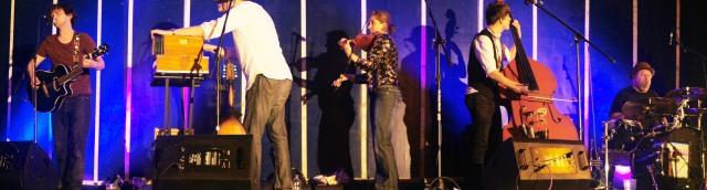 On-Stage Burnham Band Photo